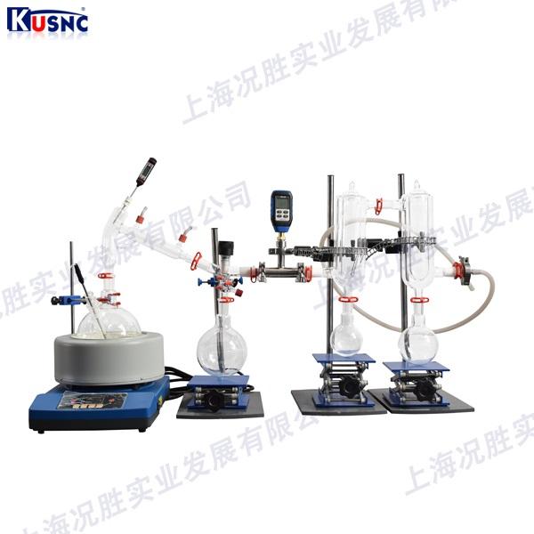 短程玻璃蒸馏装置