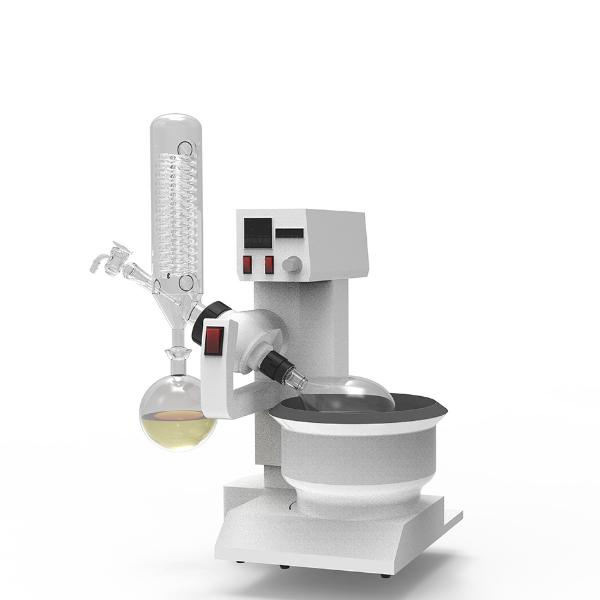 1-5L旋转蒸发仪3D展示图