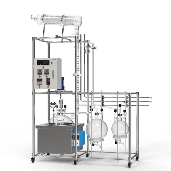 50L定制型玻璃蒸馏釜3D展示图