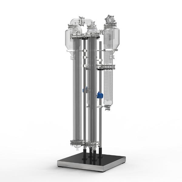 定制型升膜蒸发器3D展示图